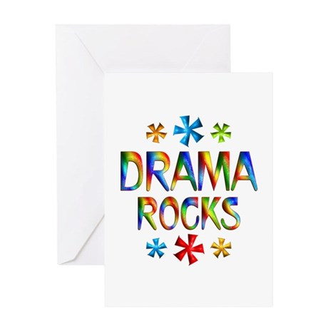 Drama Greeting Card