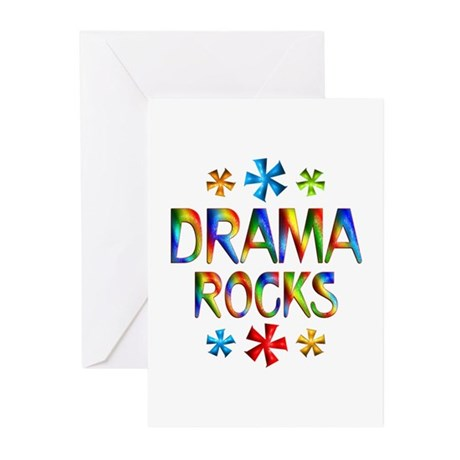 Drama Greeting Cards (Pk of 10)