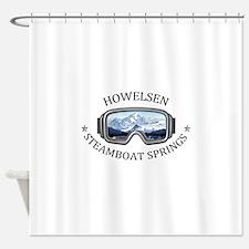 Howelsen Ski Area - Steamboat Spr Shower Curtain