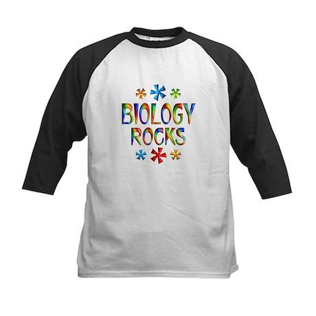 Biology Kids Baseball Jersey