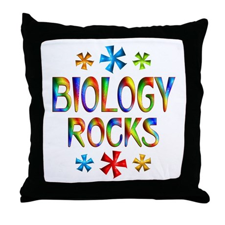 Biology Throw Pillow