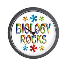 Biology Wall Clock
