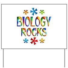 Biology Yard Sign