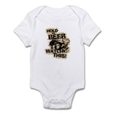 HOLD MY BEER Infant Bodysuit