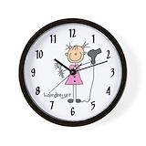 Hairdresser Wall Clocks