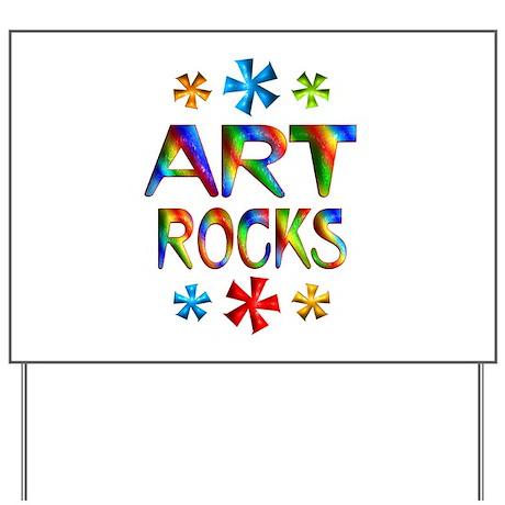 Art Yard Sign