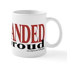 """Left-Handed & proud"" Mug"