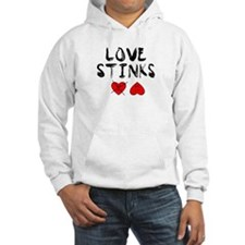 LOVE STINKS HEART FACES Hoodie