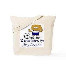 Born to Play Jacob Tote Bag