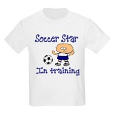 Soccer Star Andrew Kids T-Shirt