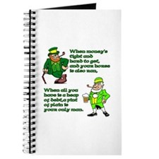 Irish Sayings, Toasts and Ble Journal
