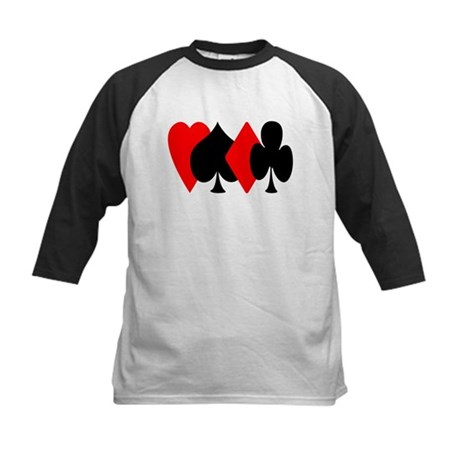 Red/Black Suit Design Kids Baseball Jersey