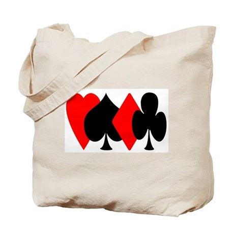 Red/Black Suit Design Tote Bag