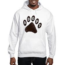 Animal Adoption Paw Hoodie