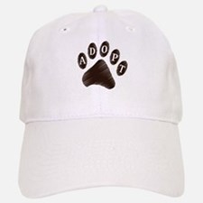 Animal Adoption Paw Baseball Baseball Cap
