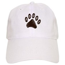 Animal Adoption Paw Baseball Cap