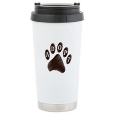 Animal Adoption Paw Travel Mug