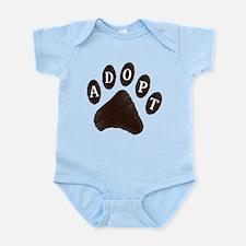 Animal Adoption Paw Infant Bodysuit