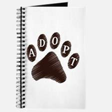 Animal Adoption Paw Journal