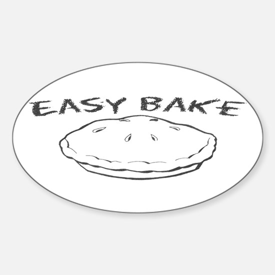 Easy Bake Oval Decal