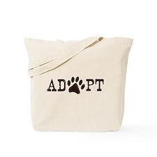 Adopt an Animal Tote Bag