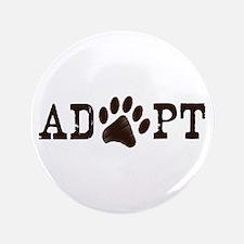 "Adopt an Animal 3.5"" Button"