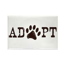 Adopt an Animal Rectangle Magnet