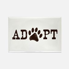 Adopt an Animal Rectangle Magnet (100 pack)