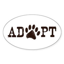 Adopt an Animal Decal