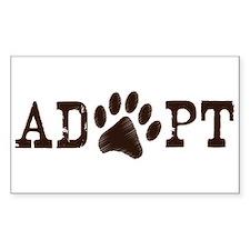 Adopt an Animal Decal