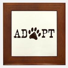 Adopt an Animal Framed Tile