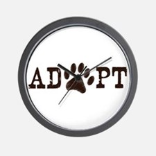 Adopt an Animal Wall Clock
