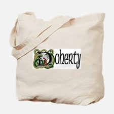 Doherty Celtic Dragon Tote Bag