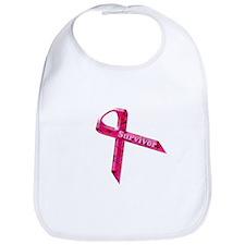 Cute Breast cancer walk Bib