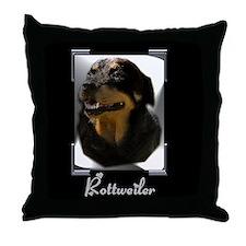 Rottweiler Gifts Throw Pillow
