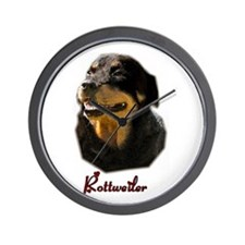 Rottweiler Gifts Wall Clock