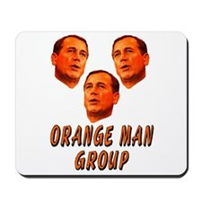 ORANGE MAN GROUP Mousepad