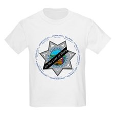 San Diego Law Enforcement Memorial Kids T-Shirt
