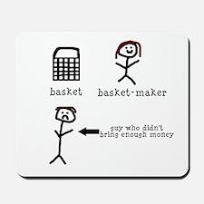 A Tisket A Tasket Mousepad