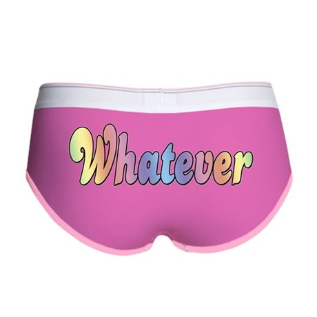 Rainbow Whatever Women's Boy Brief