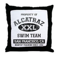 Alcatraz Throw Pillow
