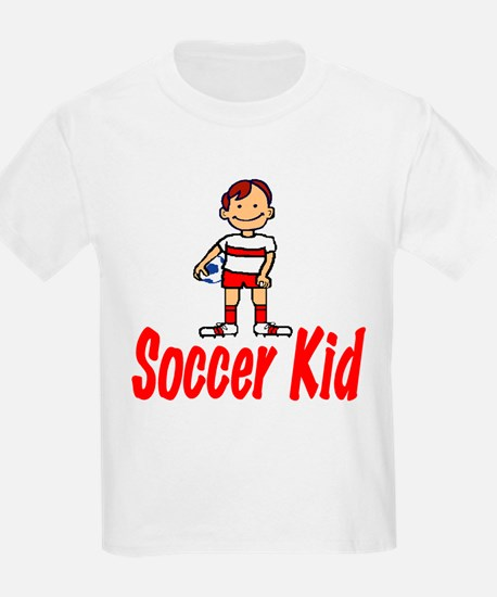 Soccer Kid Christopher Kids T-Shirt