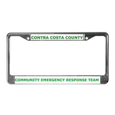 Contra Costa County CERT License Plate Frame