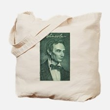 Abraham Lincoln Engraving Tote Bag