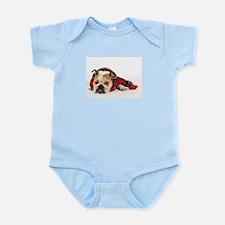 English Bulldog Infant Creeper
