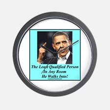 """""""Least Qualified Person"""" Wall Clock"""