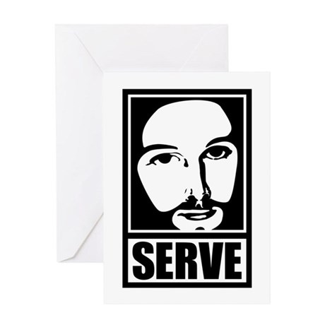 SERVE Greeting Card