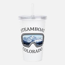 Steamboat Ski Resort Acrylic Double-wall Tumbler
