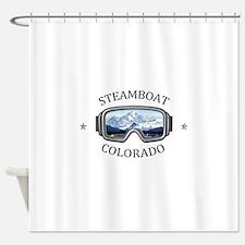 Steamboat Ski Resort - Steamboat Shower Curtain