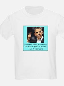 """""""A Natural Born Un-American"""" T-Shirt"""